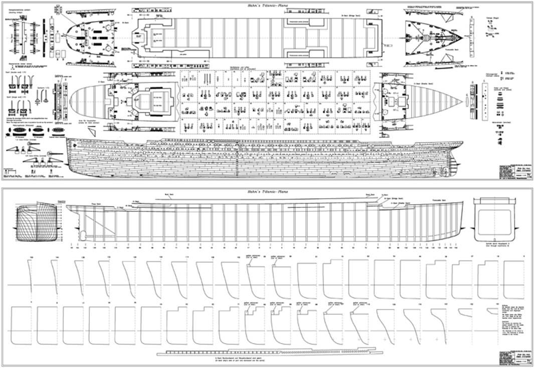 titanic model plans  woodworking