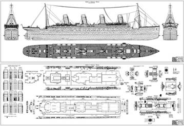 Titanic Blueprints